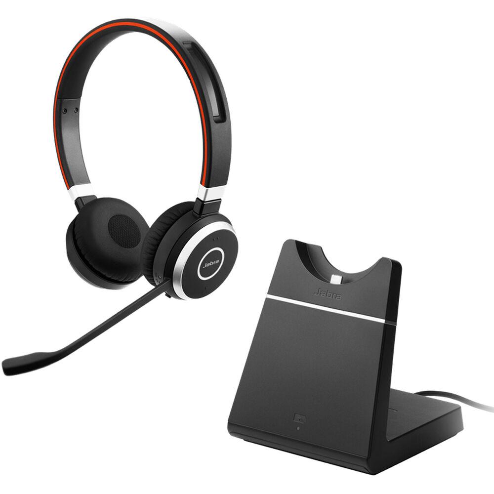 Jabra Evolve 65 Uc Stereo Bluetooth Headset 6599 823 499 B H