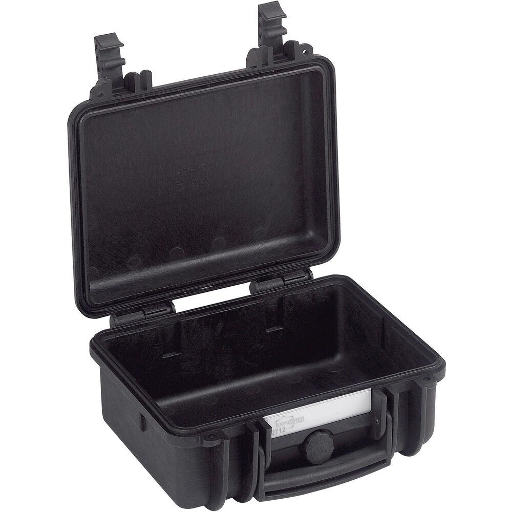 Black Explorer Cases 2712 B EXPLORER 2712 Case with Foam for Cameras or Similar Electronic Gear