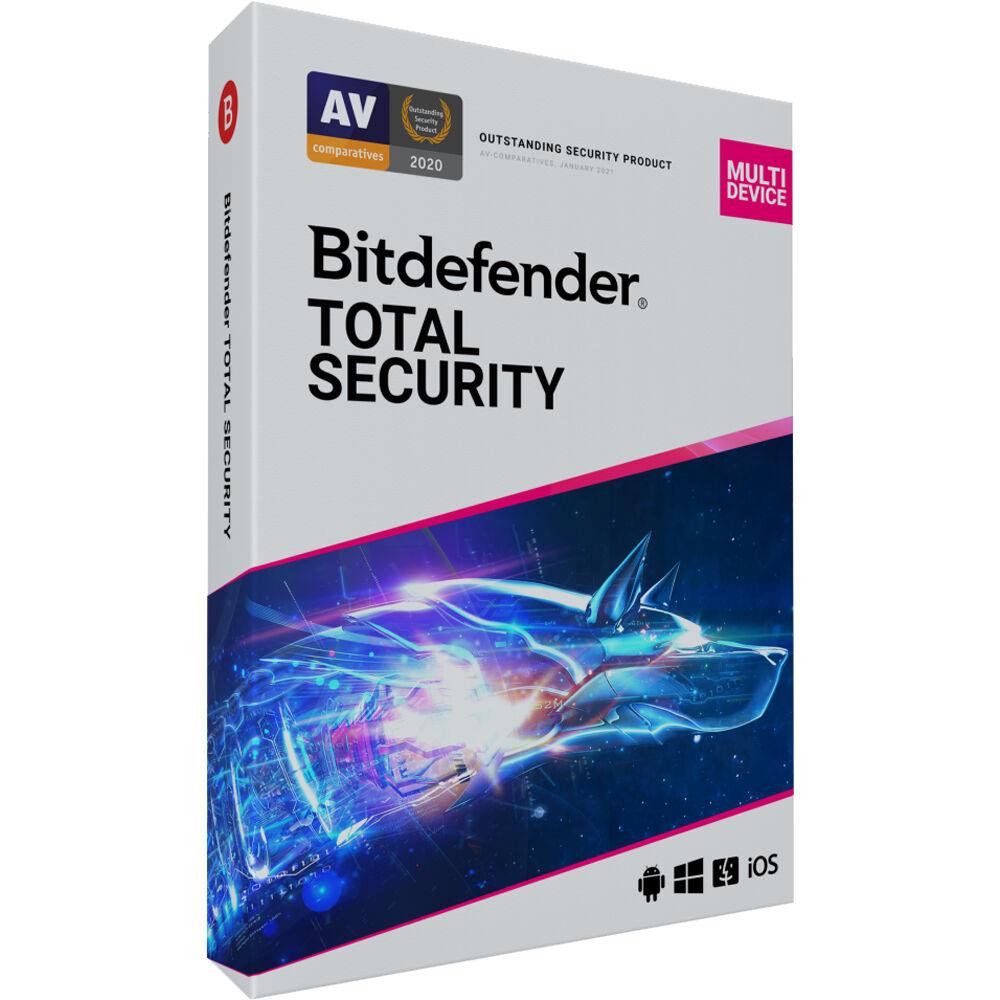 Bitdefender Total Security Ts01zzcsn1205len B H Photo Video