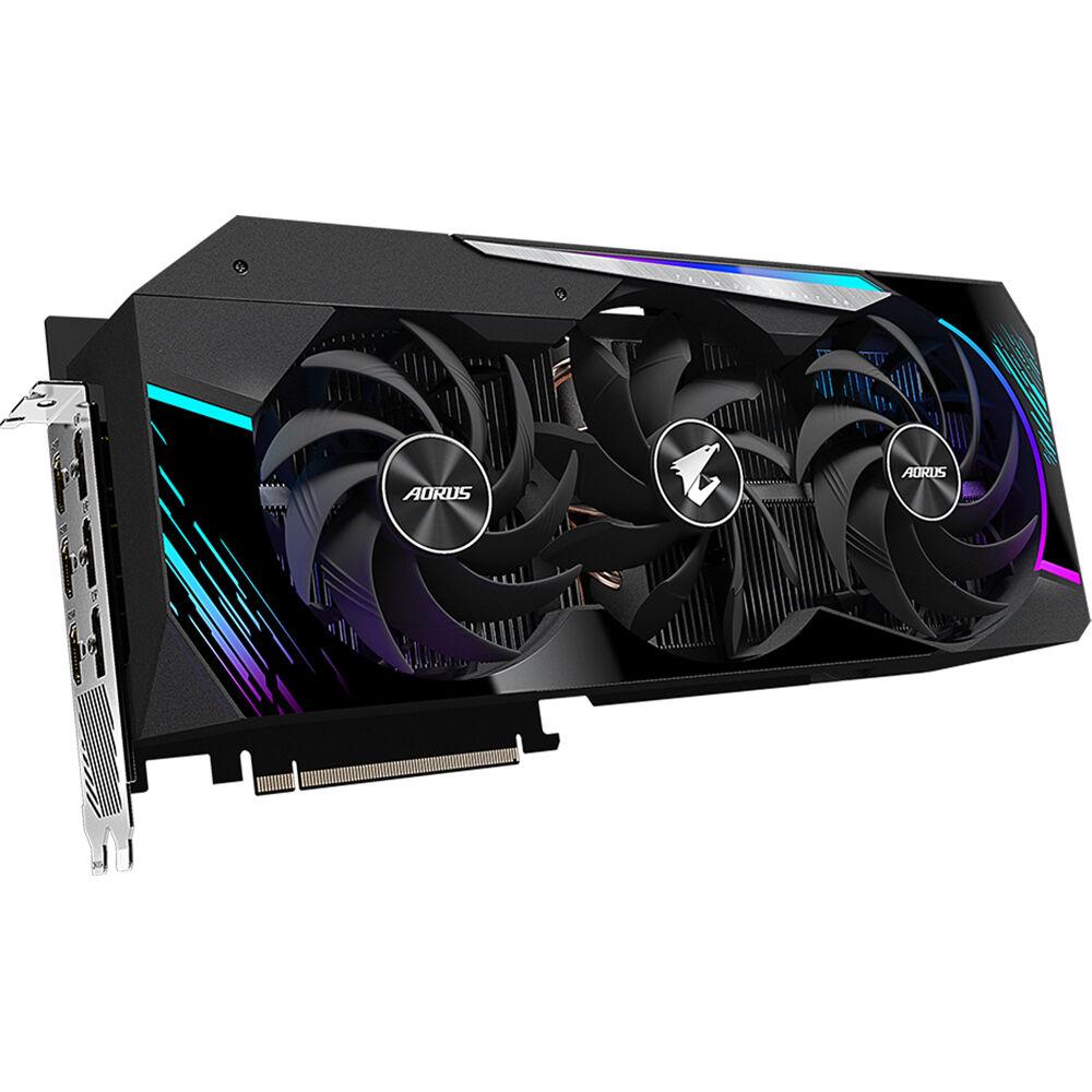 10GB 320-bit GDDR6X Gigabyte AORUS GeForce RTX 3080 Master 10G Graphics Card Max Covered Cooling GV-N3080AORUS M-10GD Video Card