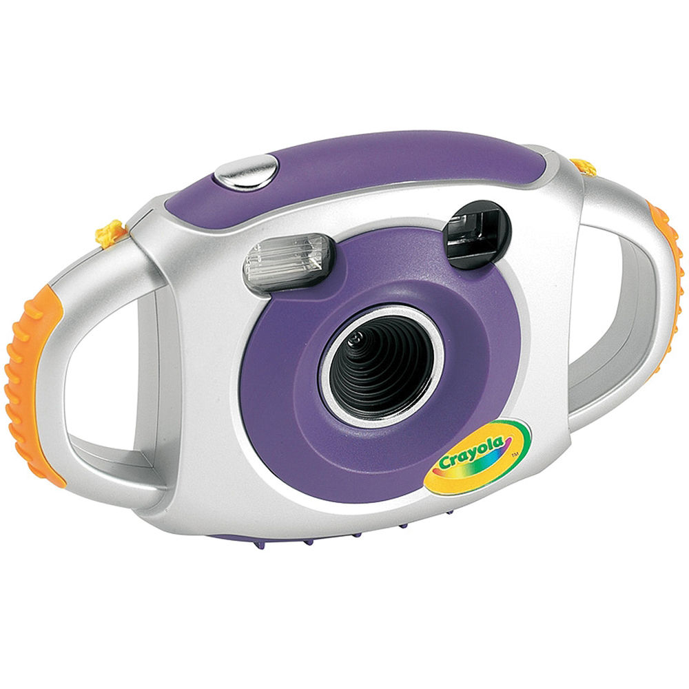 Sakar Crayola 2.1MP Digital Camera (Purple) 25072 B&H Photo