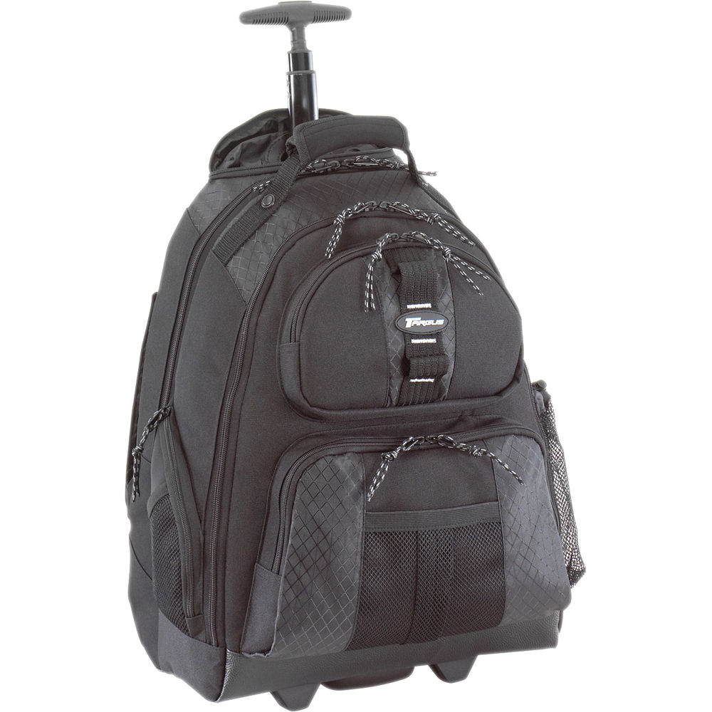 Targus Tsb700 15 4 Quot Rolling Laptop Backpack Tsb700 B Amp H
