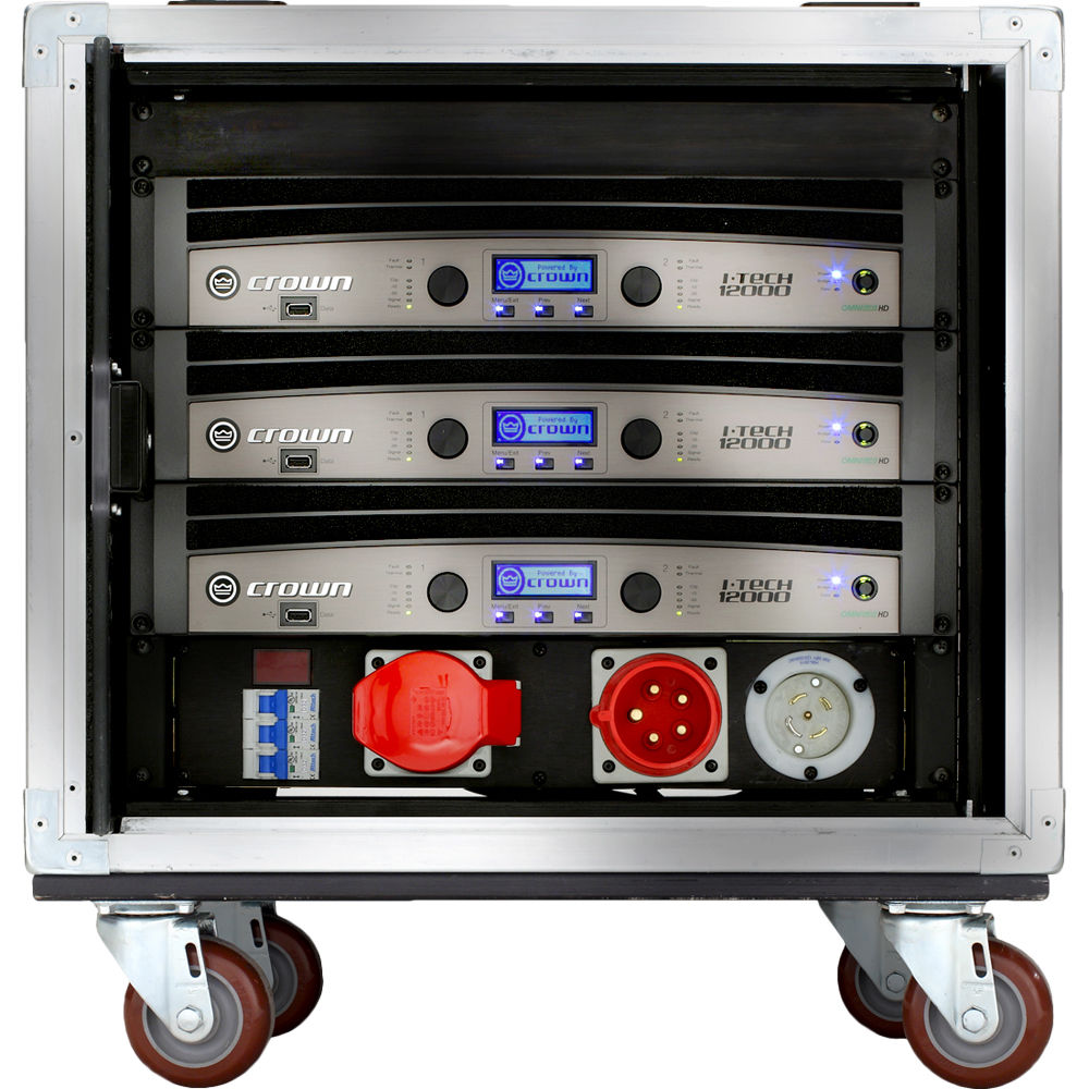 Crown Audio Vrack Amplification System