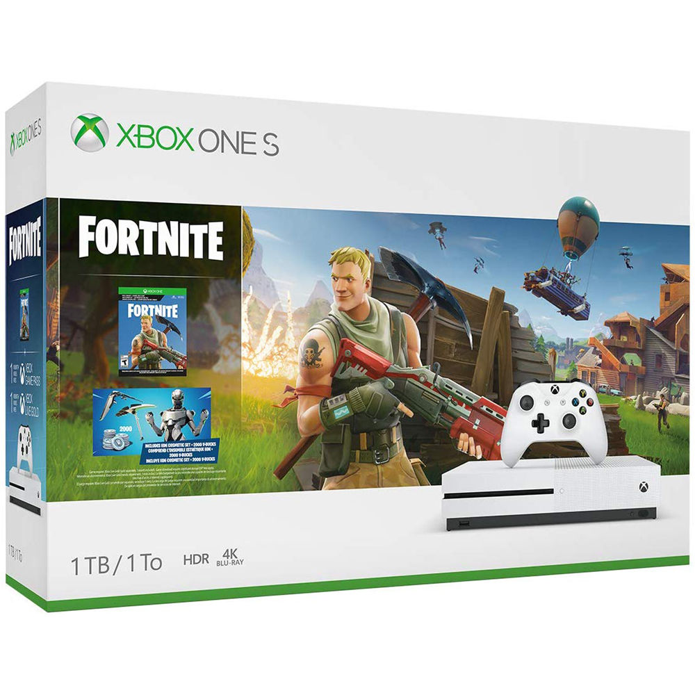 Microsoft Xbox One S Fortnite Bundle 234 00703 B H Photo Video How to download fortnite on xbox one. microsoft xbox one s fortnite bundle