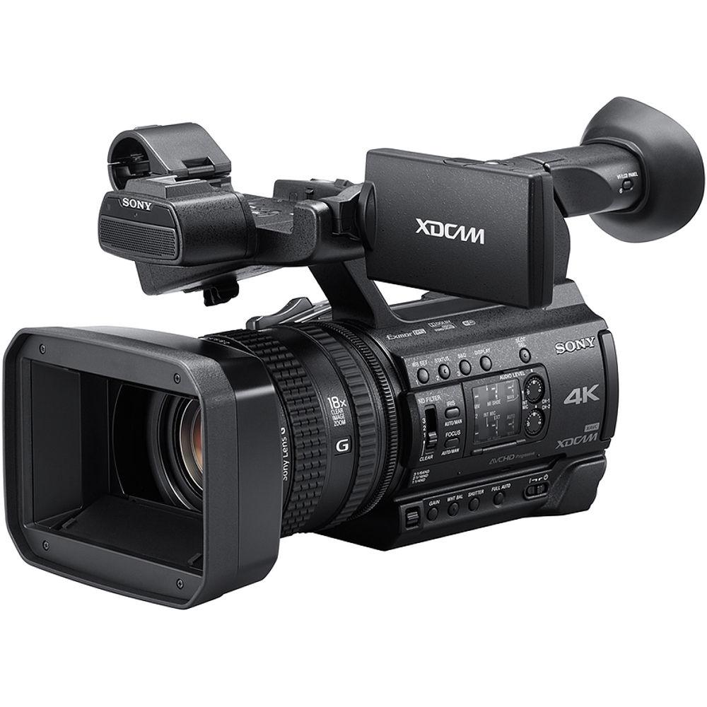 Sony Pxw Z150 4k Xdcam Camcorder Pxw Z150 B H Photo Video