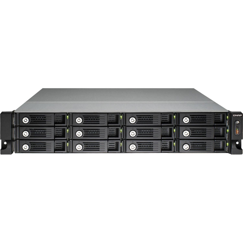 QNAP TS-1269U-RP 12-Bay NAS Server for SMBs