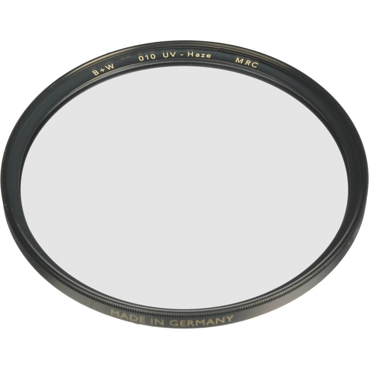 010M B+W 105mm Clear UV Haze with Multi-Resistant Coating