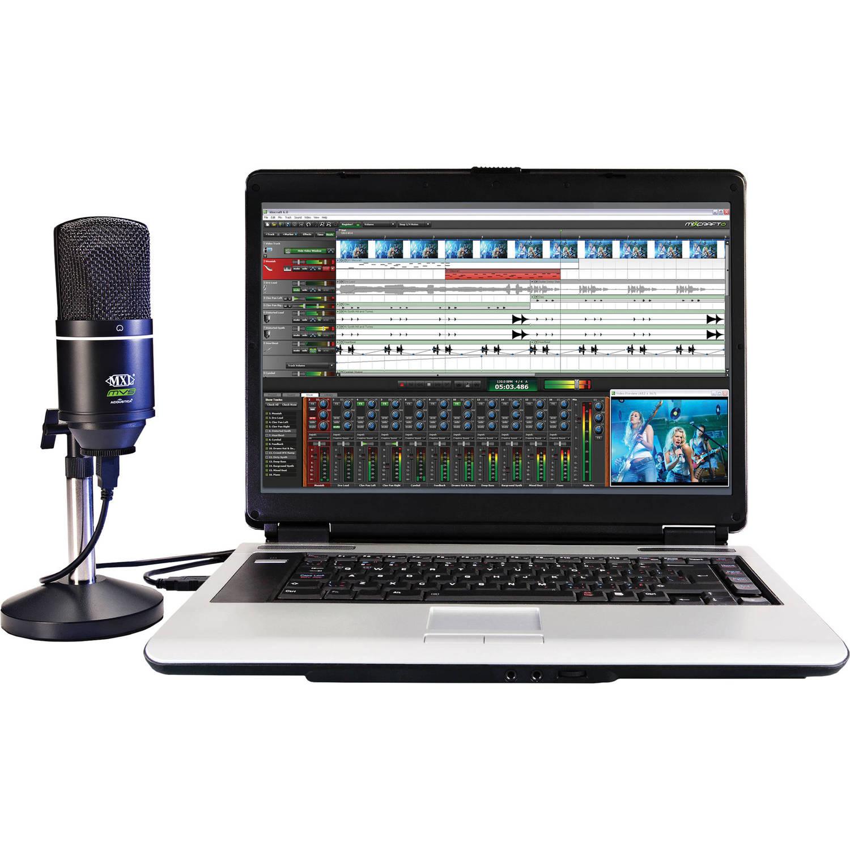 Acoustica Mixcraft 6 Vocal Studio Recording Software and USB Mic Bundle