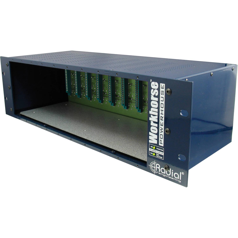 Radial Engineering Workhorse Powerhouse 500 Series Power-Rack