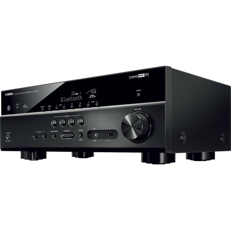 Yamaha Rx V479bl 51 Channel Av Receiver Black