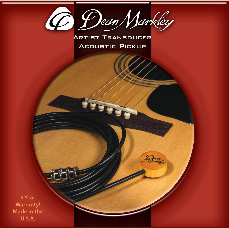 Dean Markley Artist Transducer Acoustic Pickup on