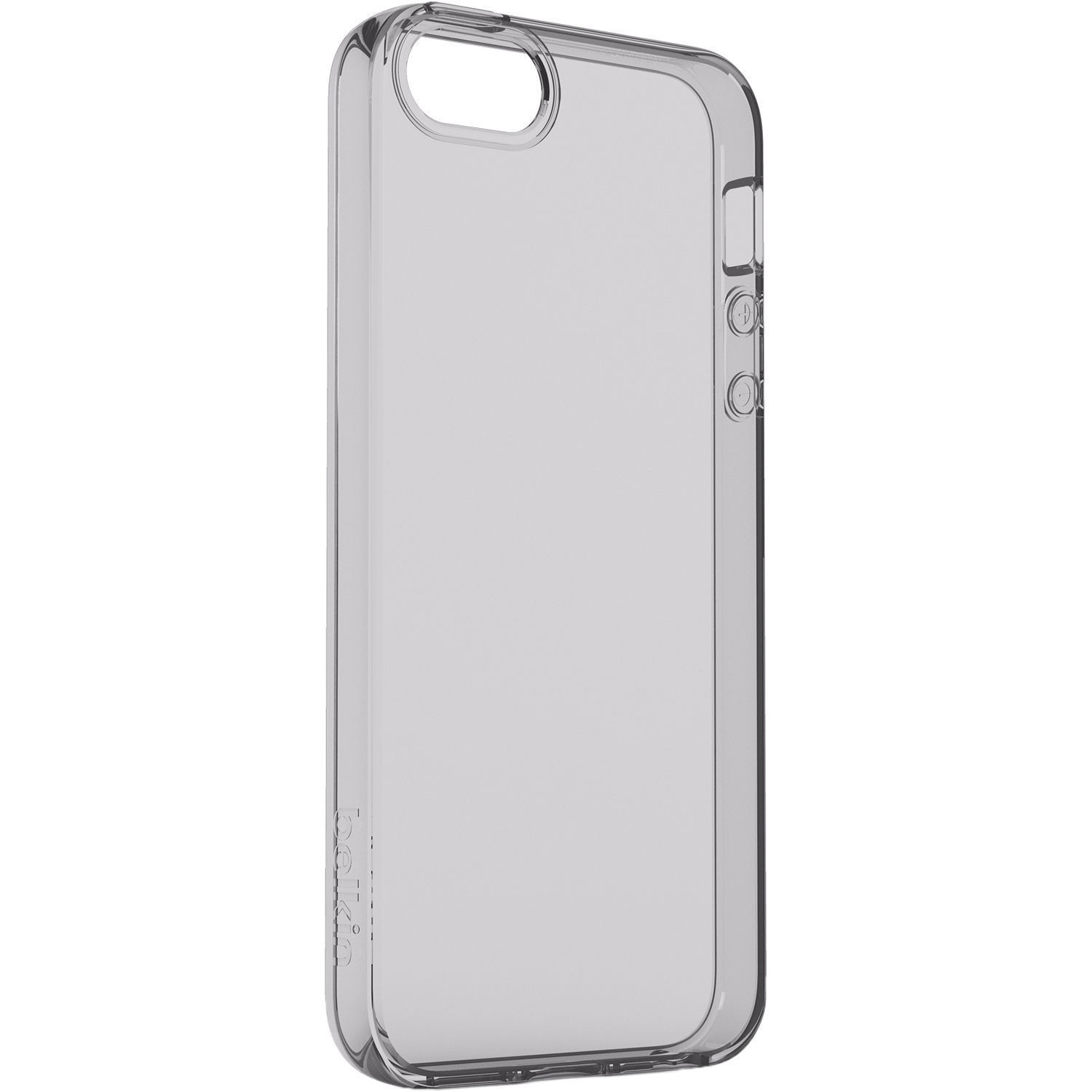 finest selection 6854d 47698 Belkin Air Protect Clear Case for iPhone SE (Space Gray)