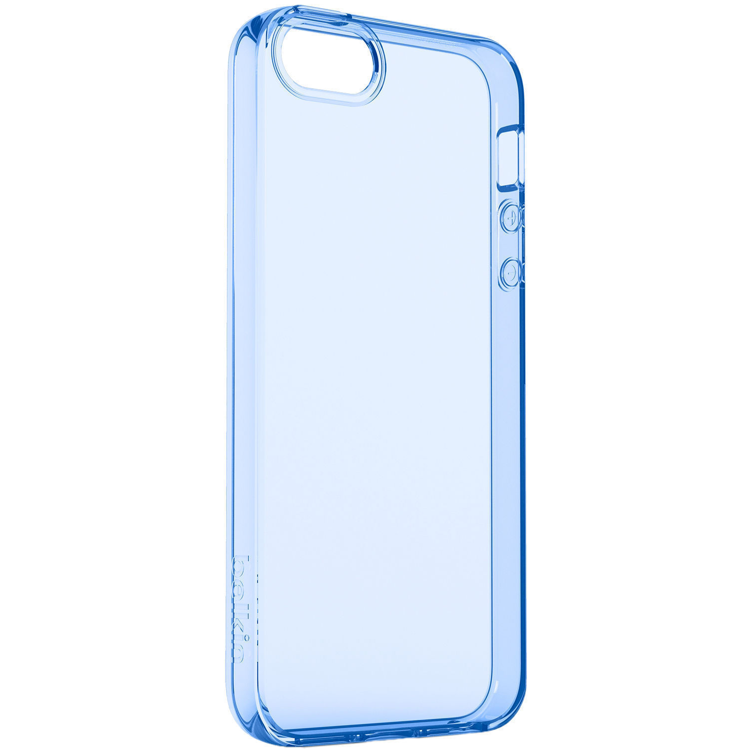 the latest 3ecf7 0cca8 Belkin Air Protect Clear Case for iPhone SE (Blue Sail)