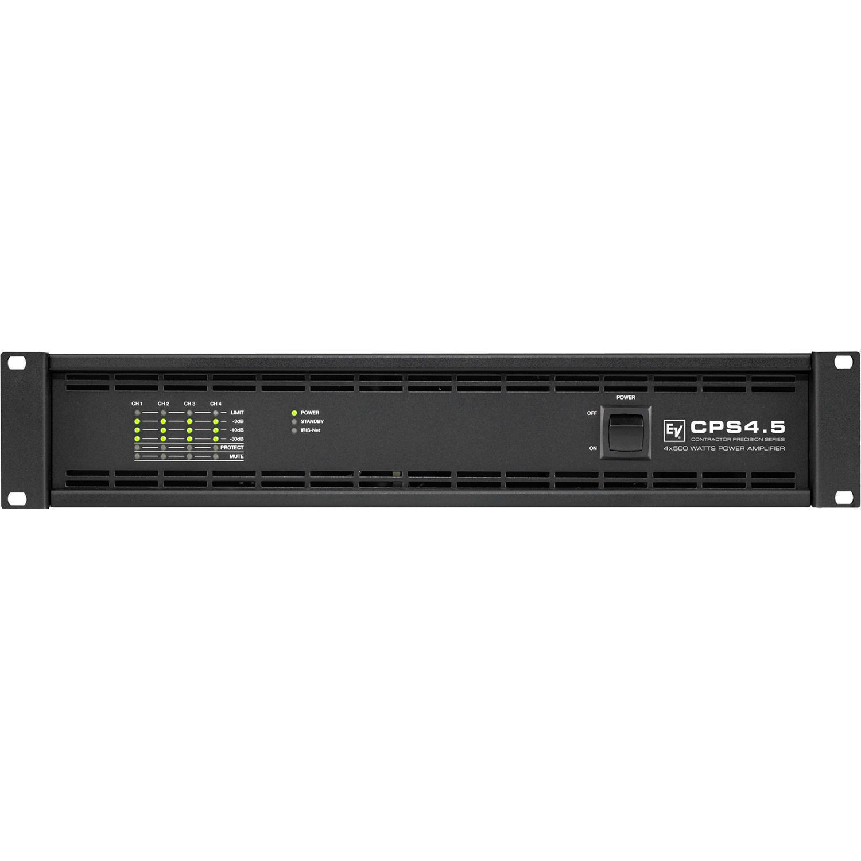 Electro-Voice CPS4 5 4-Channel Power Amplifier for RCM-810 IRIS-Net Remote  Control Module (500W, 2/4 Ohms)