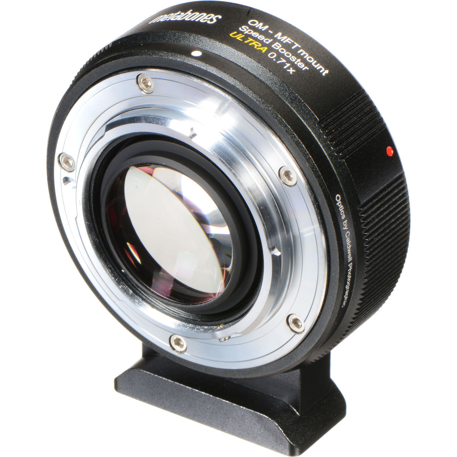 Metabones Speed Booster Ultra 0 71x Adapter for Olympus OM-Mount Lens to  Micro Four Thirds-Mount Camera