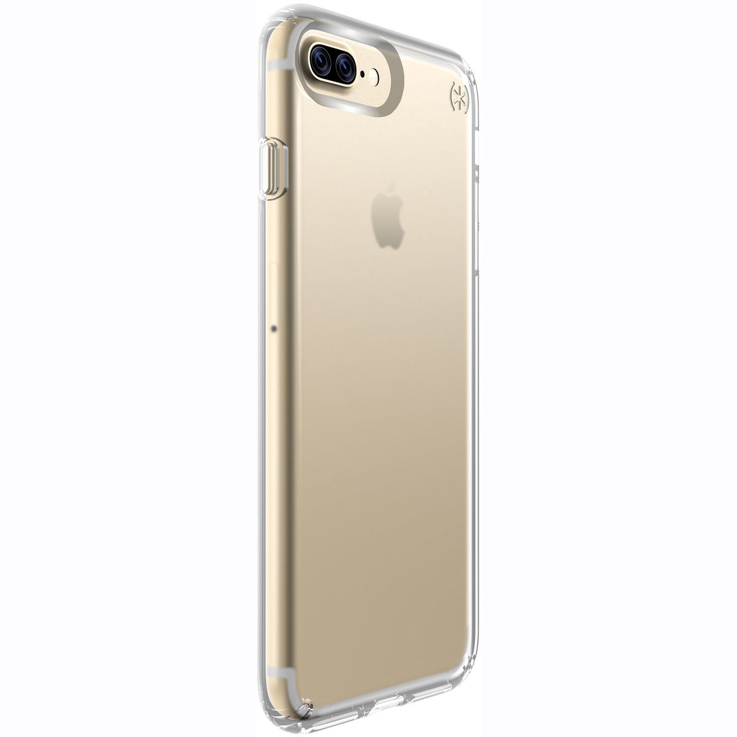 check out 4e93c cb616 Speck Presidio Clear Case for iPhone 7 Plus (Clear)
