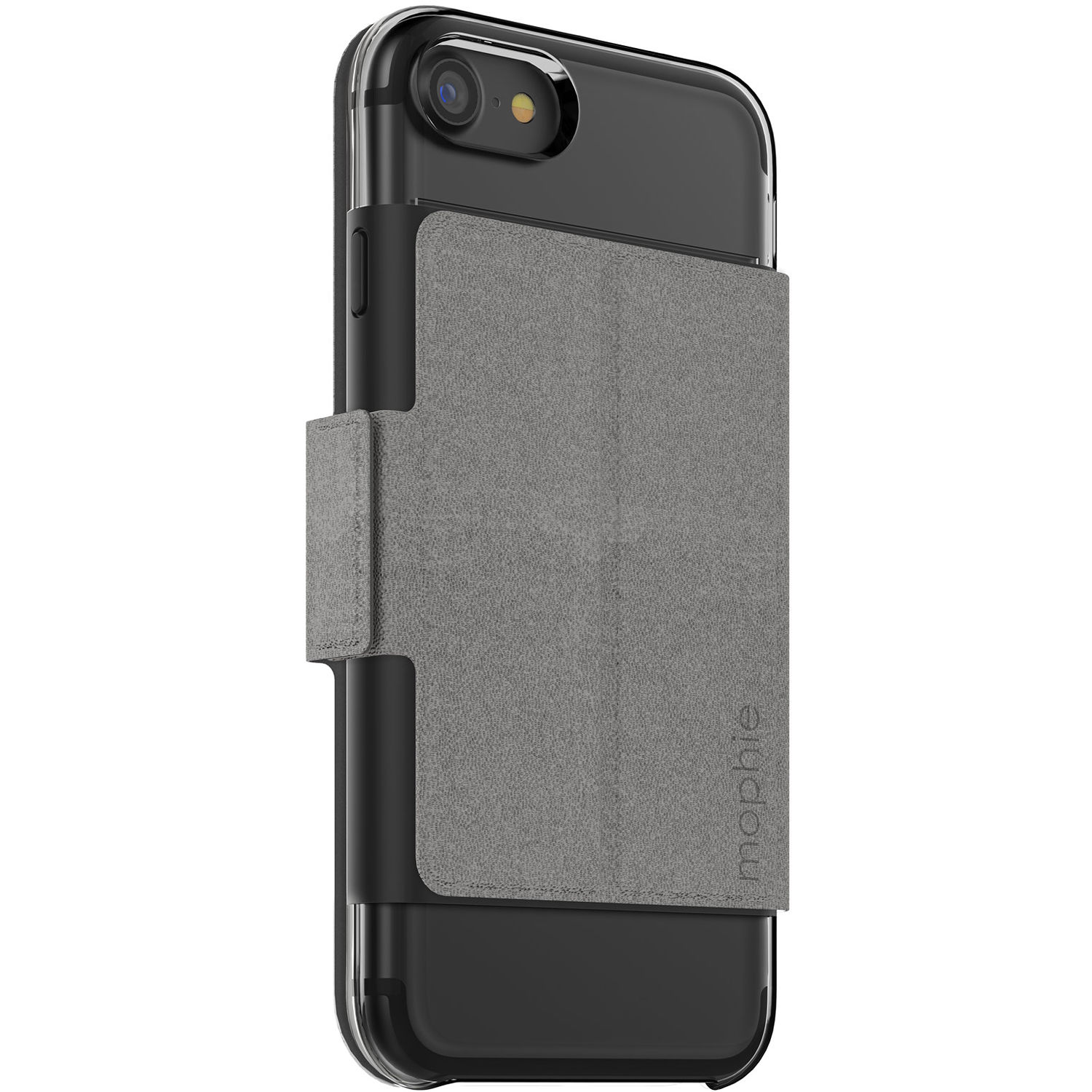 huge discount 495bb 3d004 mophie Hold Force Folio for iPhone 7 and iPhone 8 (Stone/Gray)