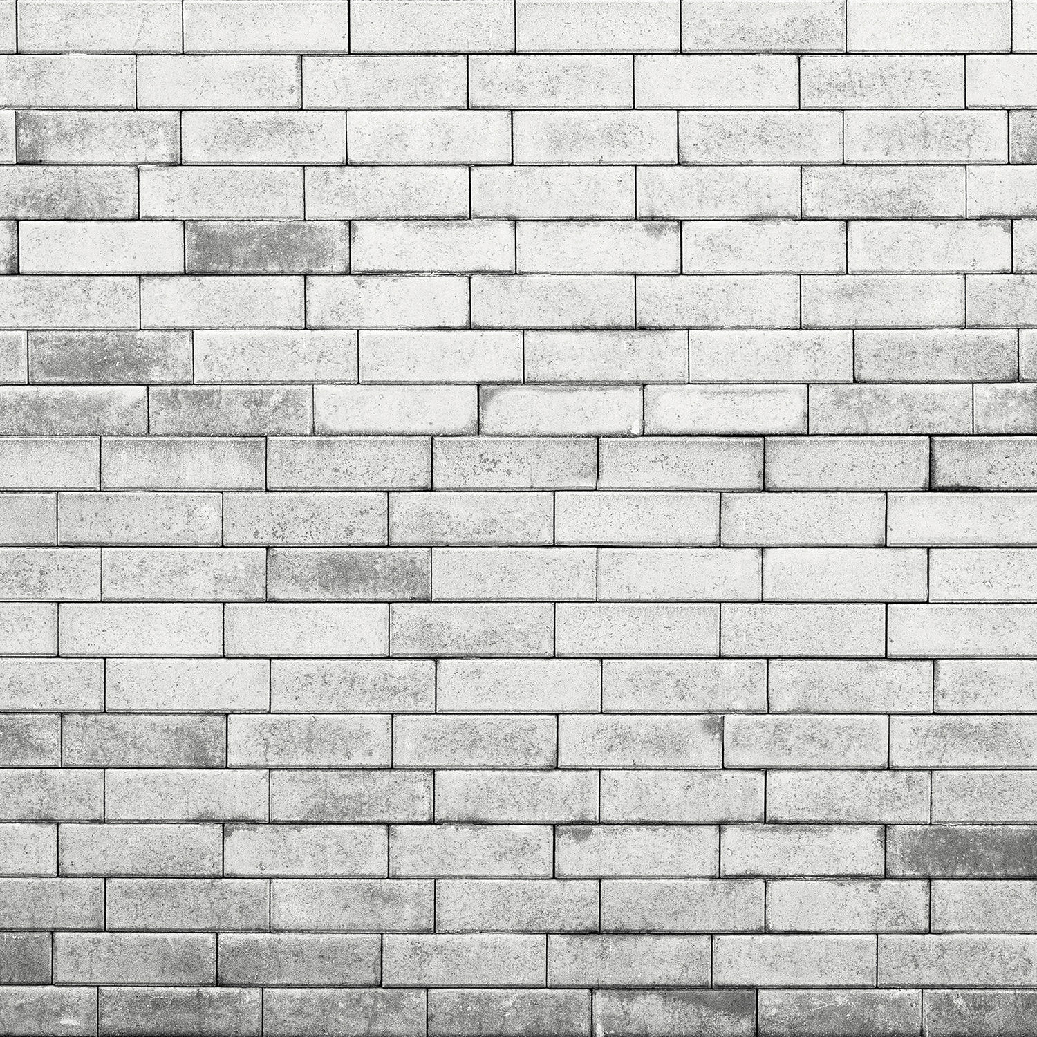 Westcott Brick Wall Art Canvas Backdrop with Hook-and-Loop Attachment (3 5  x 3 5', Gray)