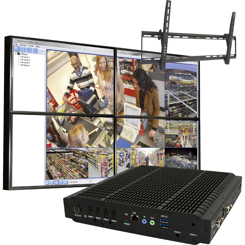 ViewZ CCTV Video Wall In A Box (46
