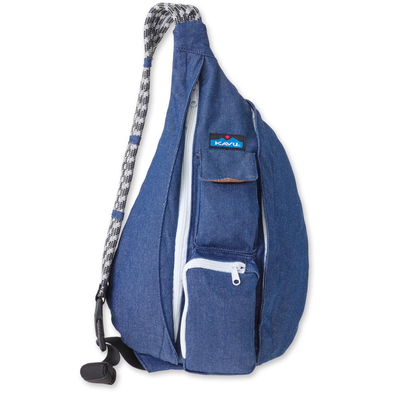 Denim Rope Bag