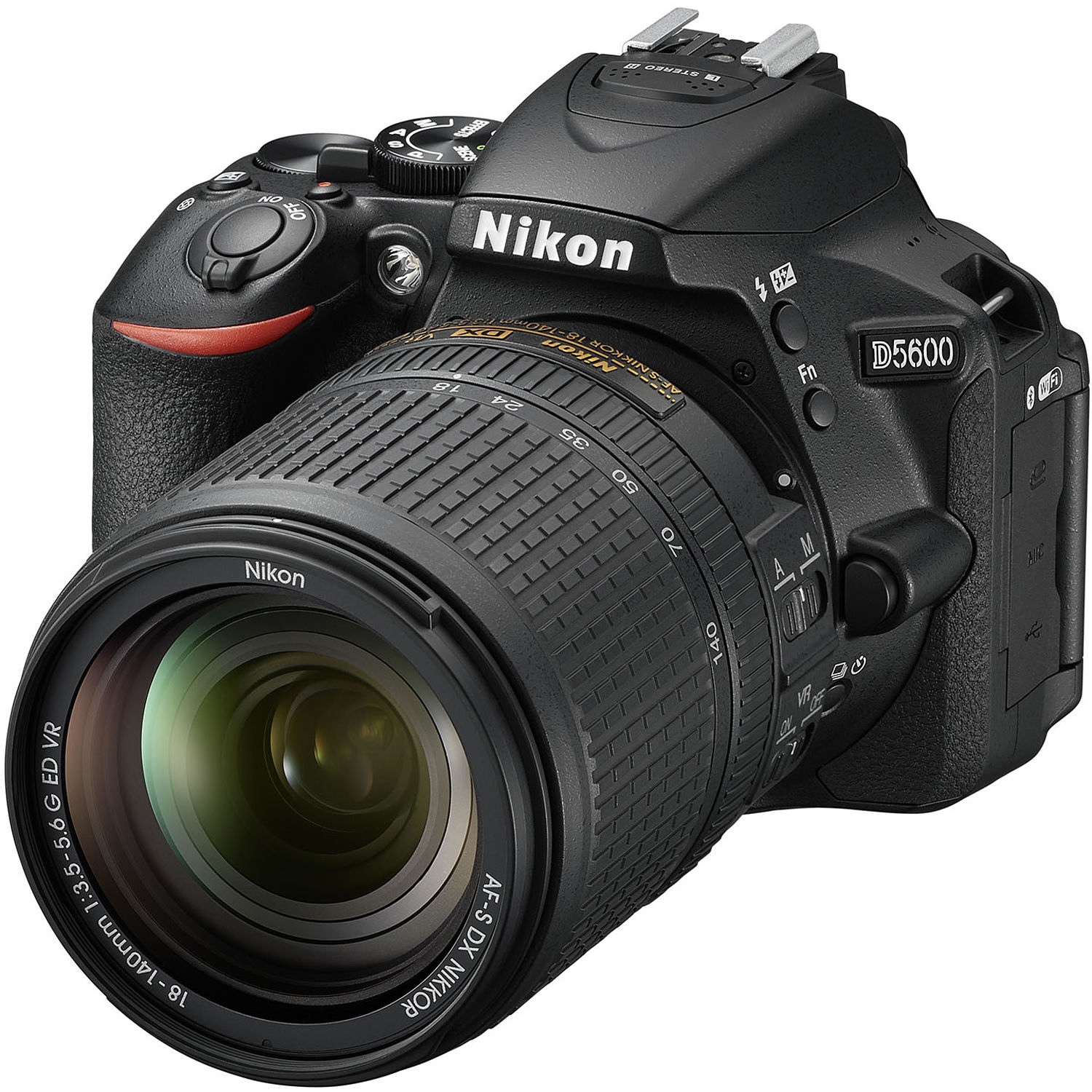 Nikon D5600 Digital Camera 18-140mm VR Kit