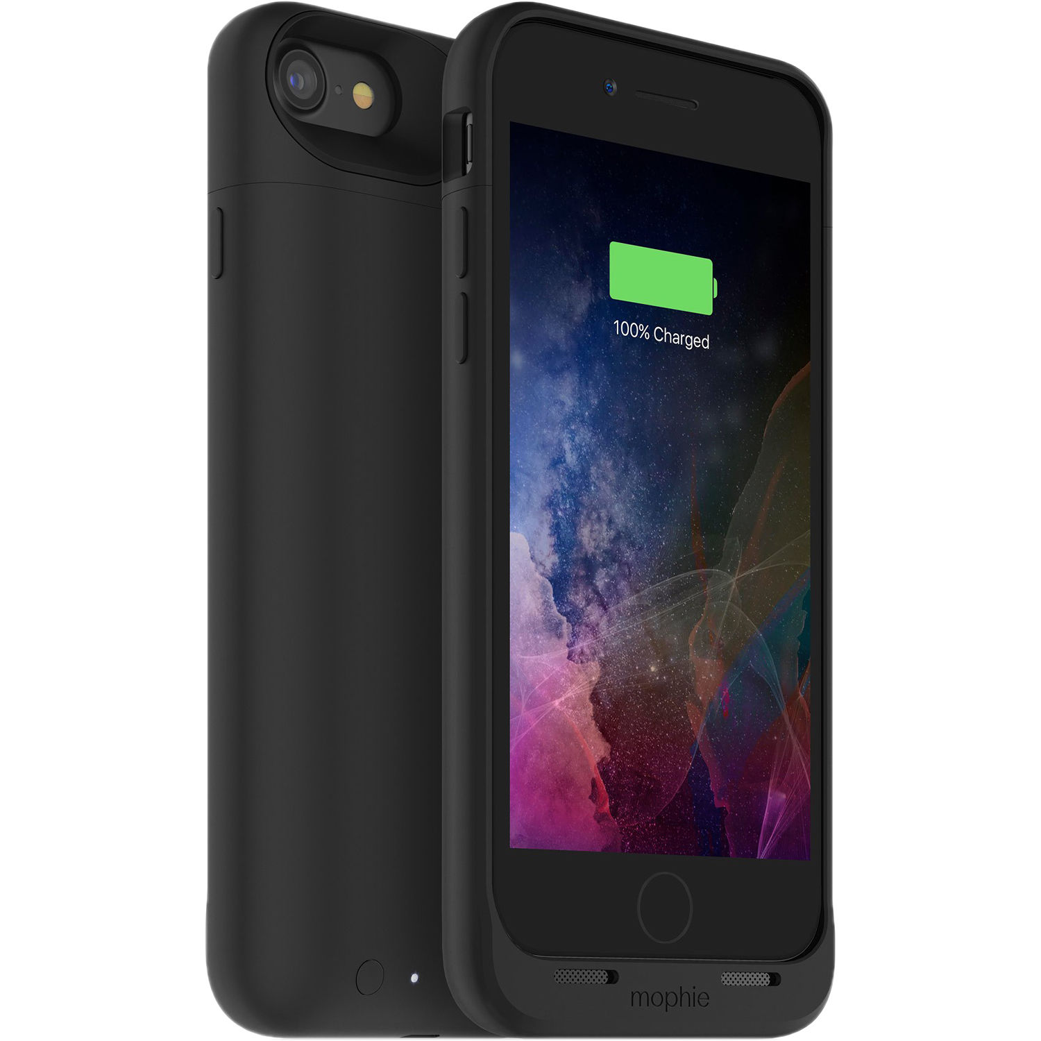 newest b3df4 3dff3 mophie juice pack air for iPhone 7 and iPhone 8 (Black)