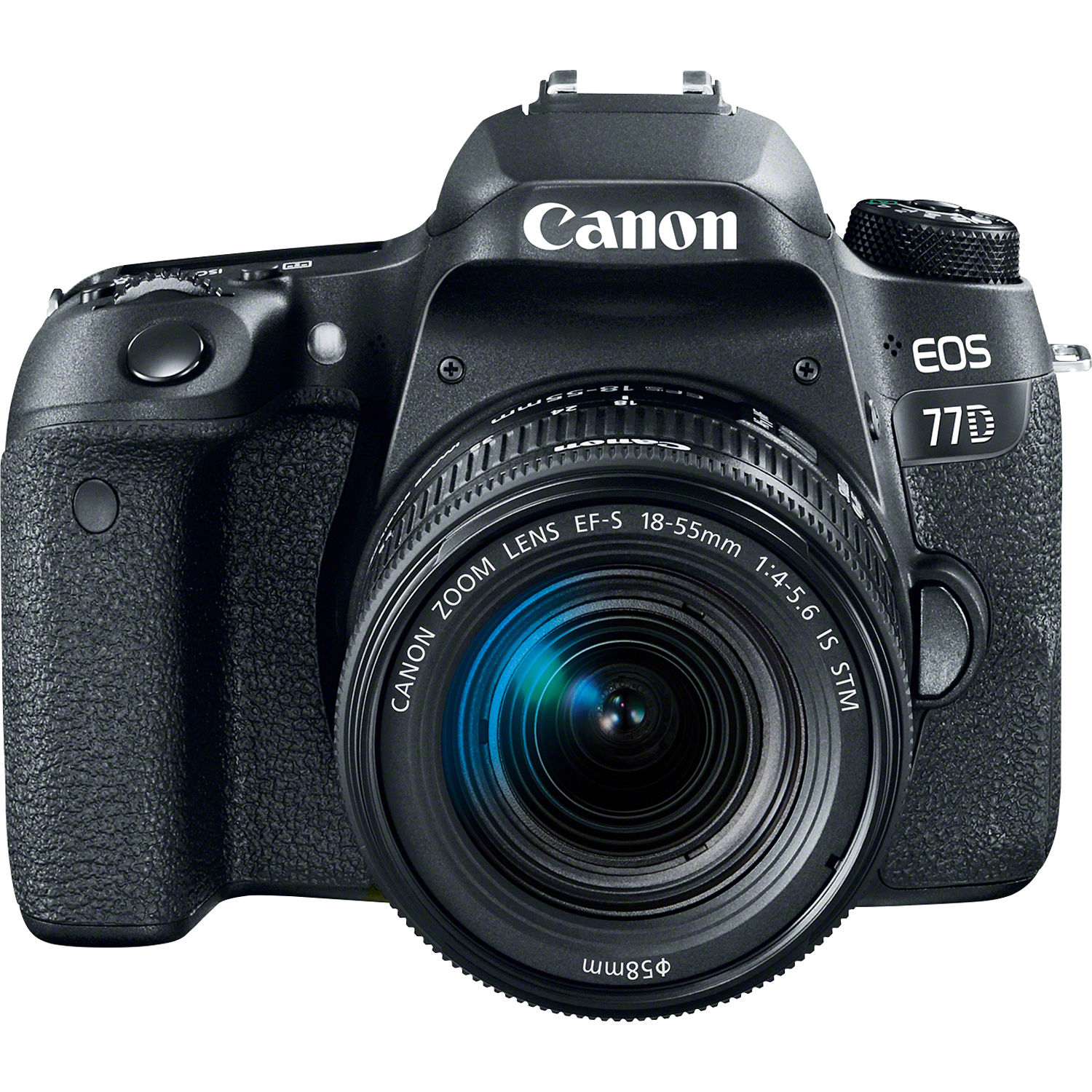 Canon Eos 77d Dslr Camera With 18 55mm Lens