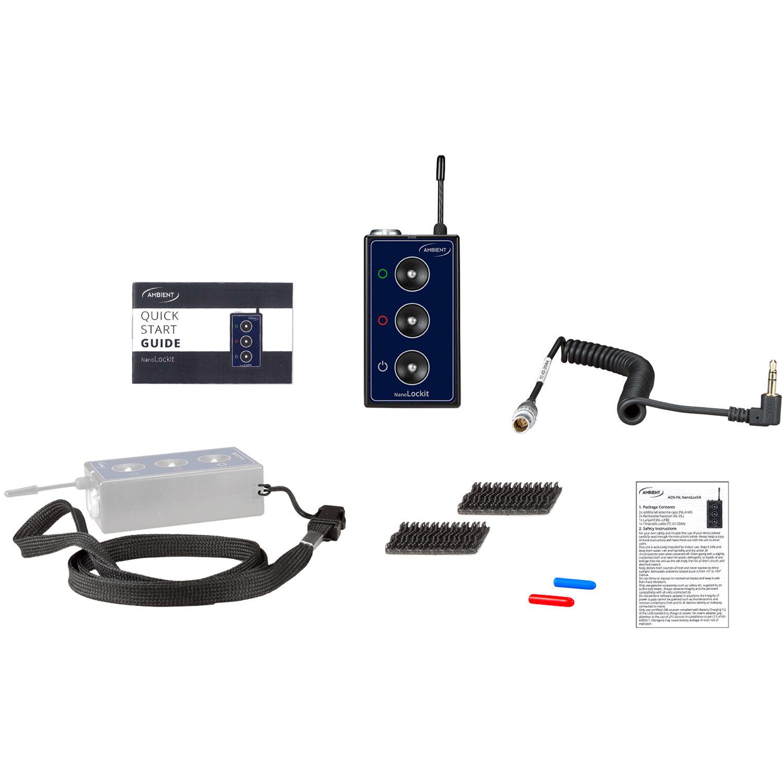 Ambient Recording NanoLockit Wireless Timecode Generator (Single)