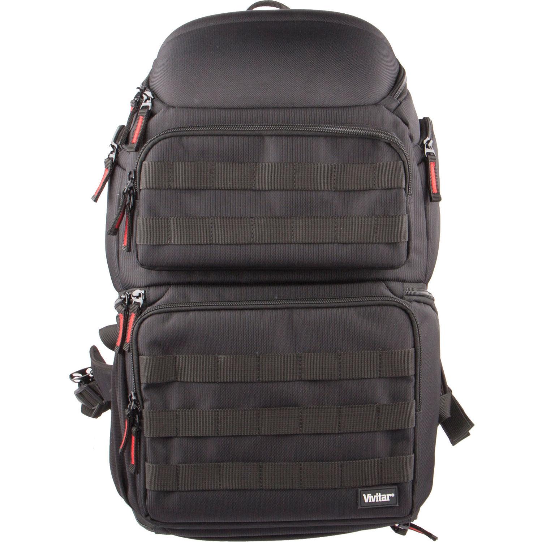 Vivitar Backpack for DSLR Camera/Camcorder (Black)