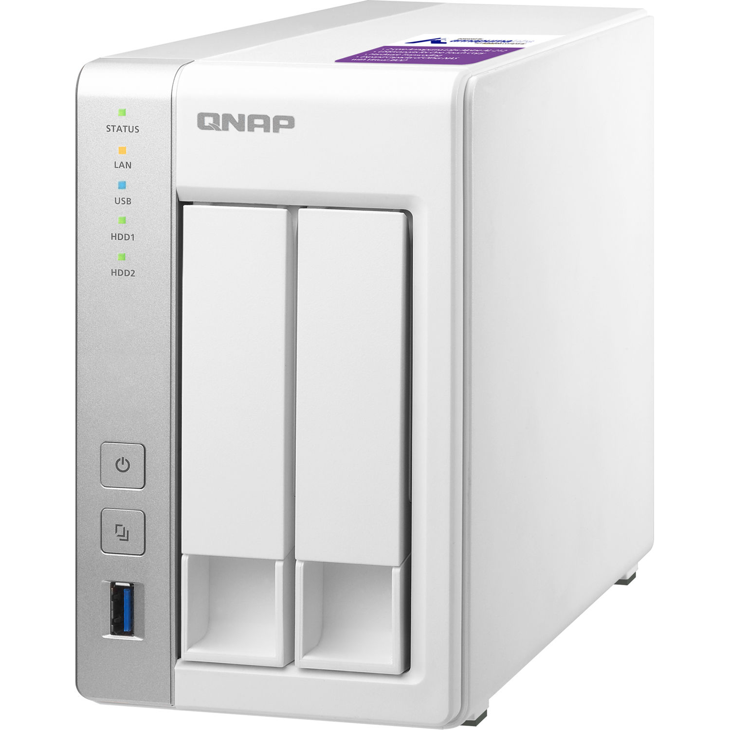 QNAP TS-231P2 2-Bay NAS Enclosure