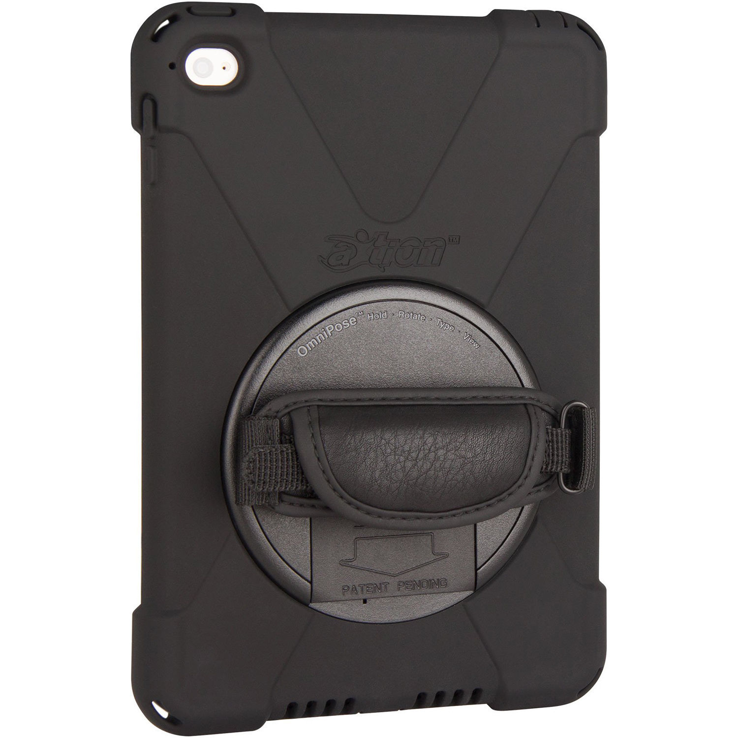 finest selection ba8c6 7db73 The Joy Factory aXtion Bold Case with OminiPose for iPad mini 4 (Black)