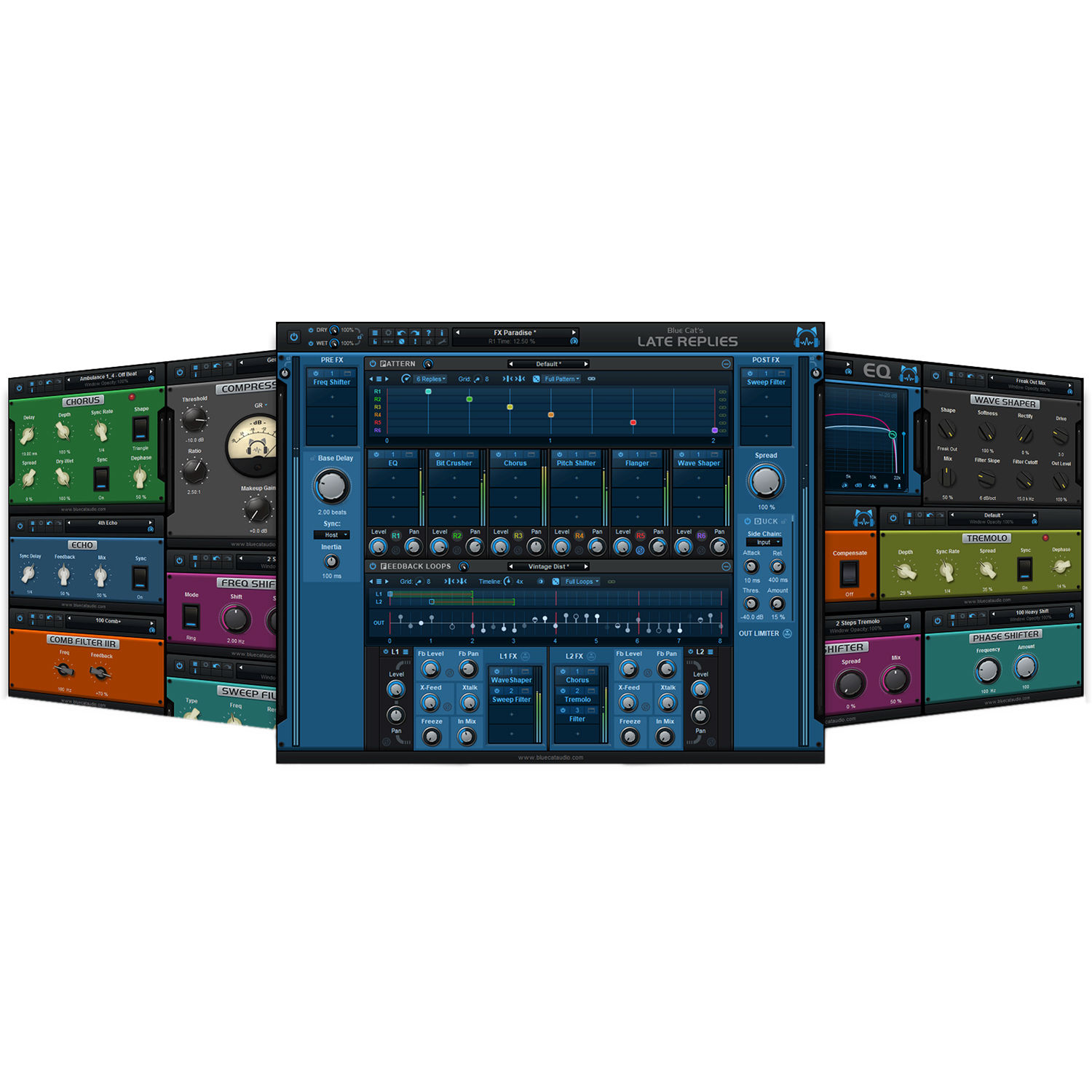 Blue Cat Audio Late Replies - Delay and Multi-Effects 11-31323