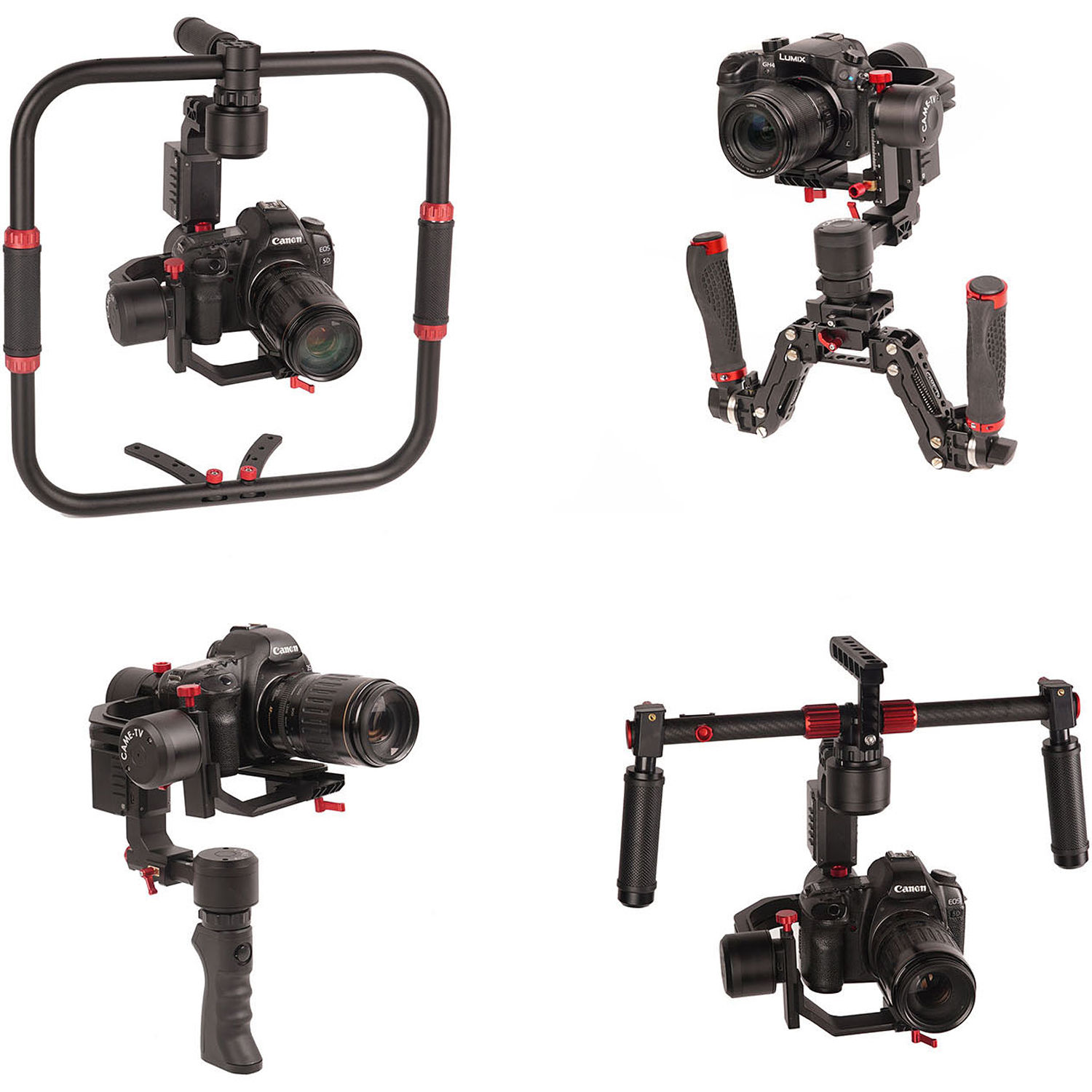CAME-TV Prophet2 4-in-1 Handheld Gimbal Stabilizer with Detachable Head 6 6  Pound Payload