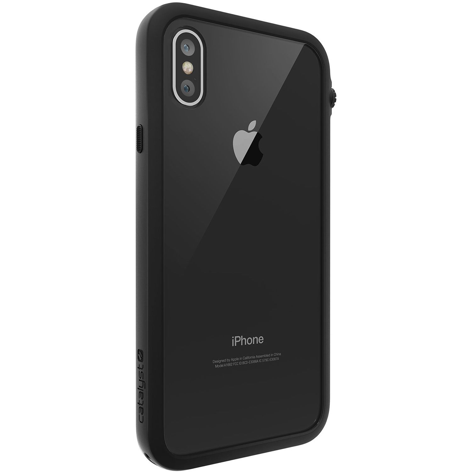 competitive price 05e37 e43b0 Catalyst Impact Protection Case for iPhone X/Xs (Stealth Black)