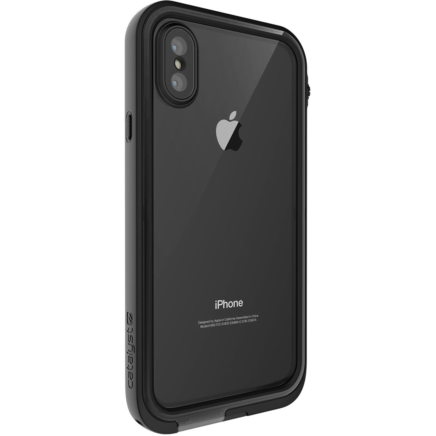 f220afc79cddb4 Catalyst Waterproof Case for iPhone X (Stealth Black)