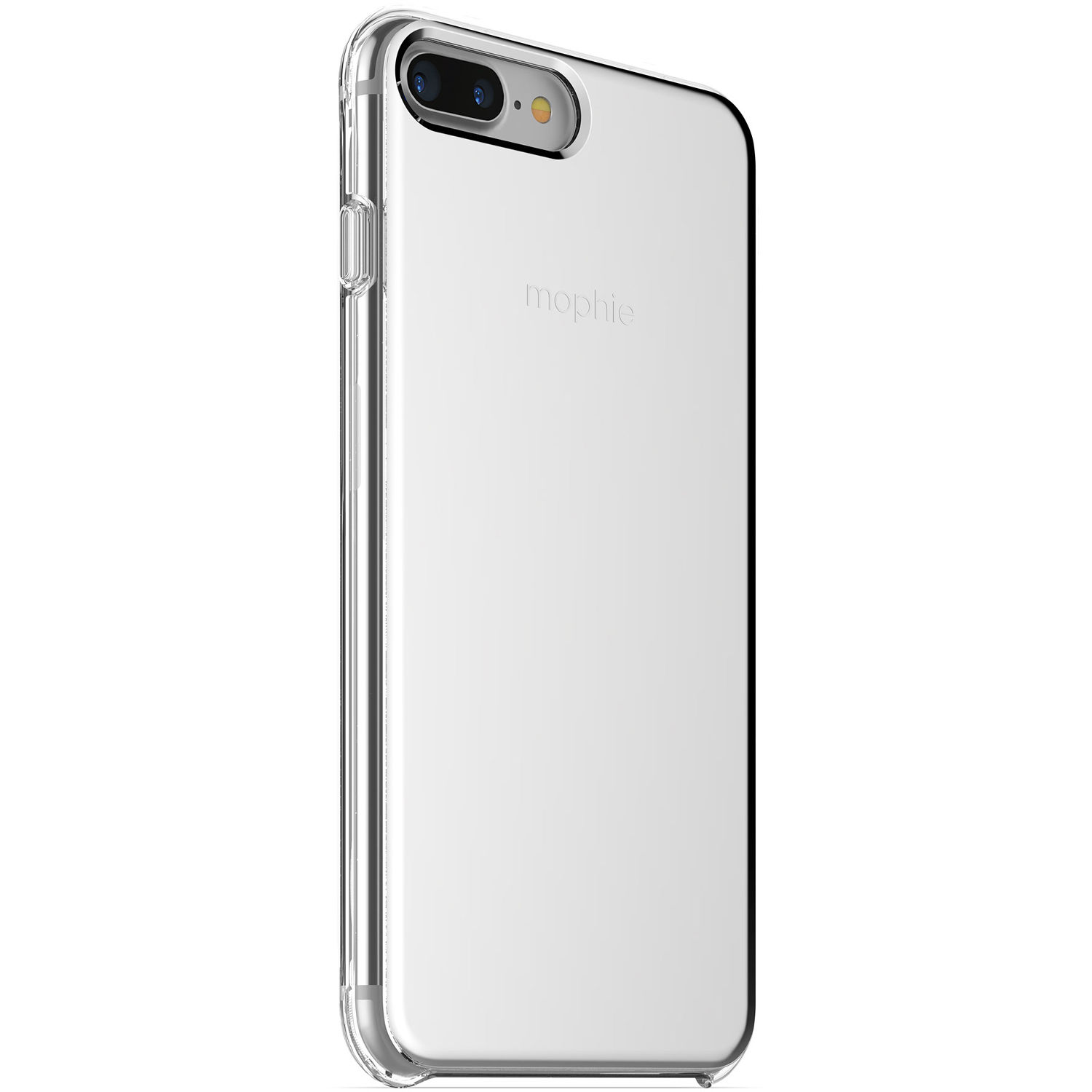 brand new 01afa b8dcb mophie Hold Force Base Case for iPhone 7 Plus and iPhone 8 Plus (Silver  Gradient)