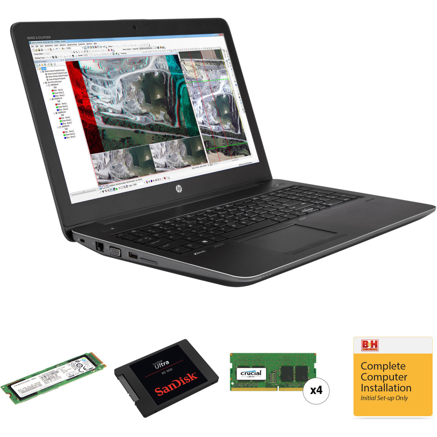 DATARAM 480GB 2.5 SSD Drive Solid State Drive Compatible with HP ZBOOK 15U G3