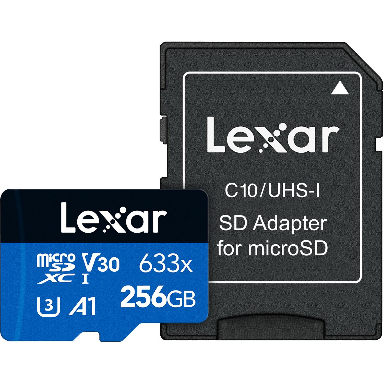 5 Pack Lexar 128GB SDXC Professional 633x UHS-1 U3 SD XC Memory Card LSD128GCB1AP633 LOT of 5 with MemoryMarket USB 3.0 Dual Slot Card Reader