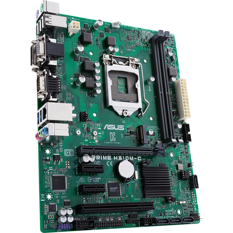 ASUS Prime H310M-C/CSM LGA 1151 Micro-ATX Motherboard