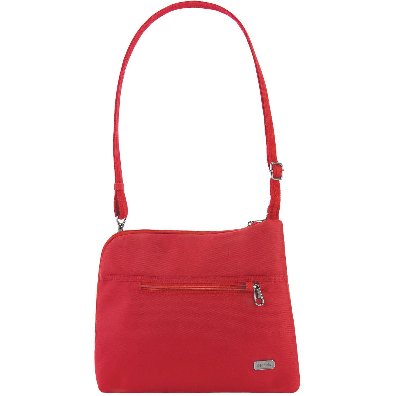 f8ff1071e315 Pacsafe Daysafe Anti-Theft Slim Crossbody Bag (Baked Apple)