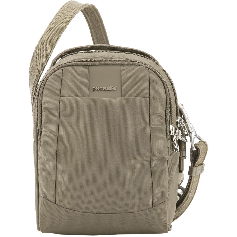 a5a64caf313e Pacsafe Metrosafe LS100 Anti-Theft Crossbody Bag (Earth Khaki)