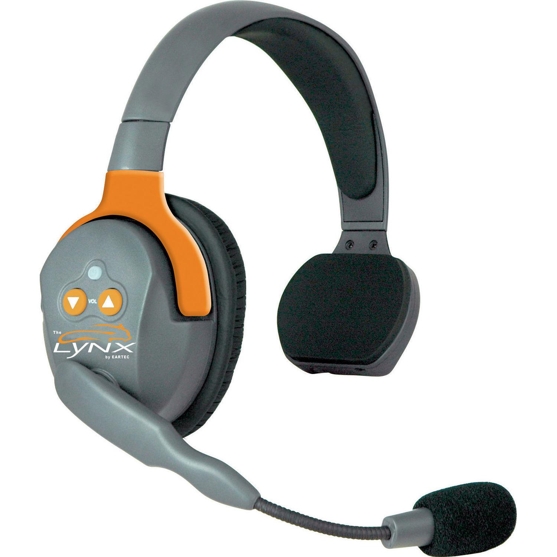 Eartec Lynx Bluetooth Wireless Headset Single Ear Lx25c B H