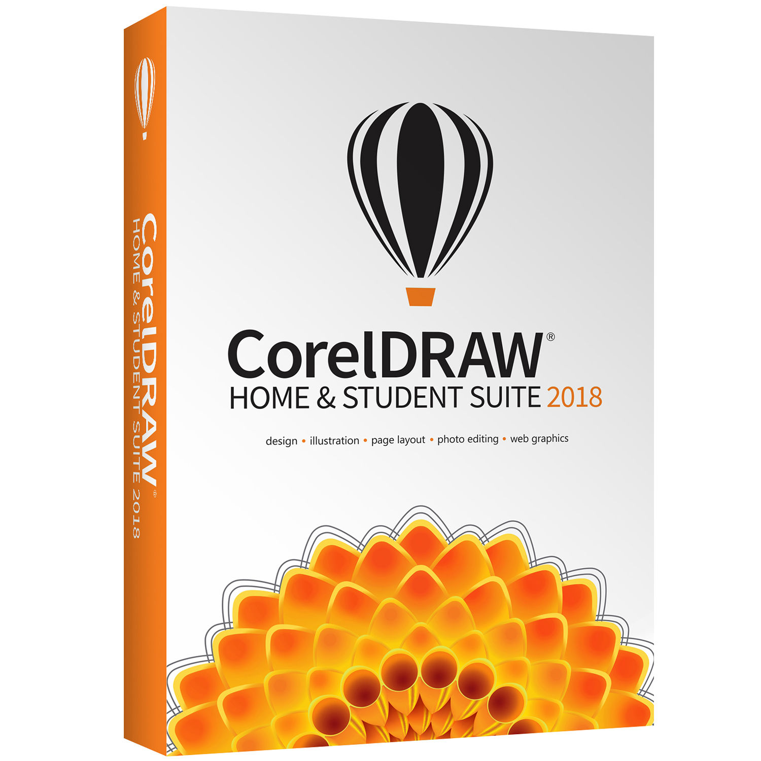 CorelDRAW Home & Student Suite 2018 (Boxed)