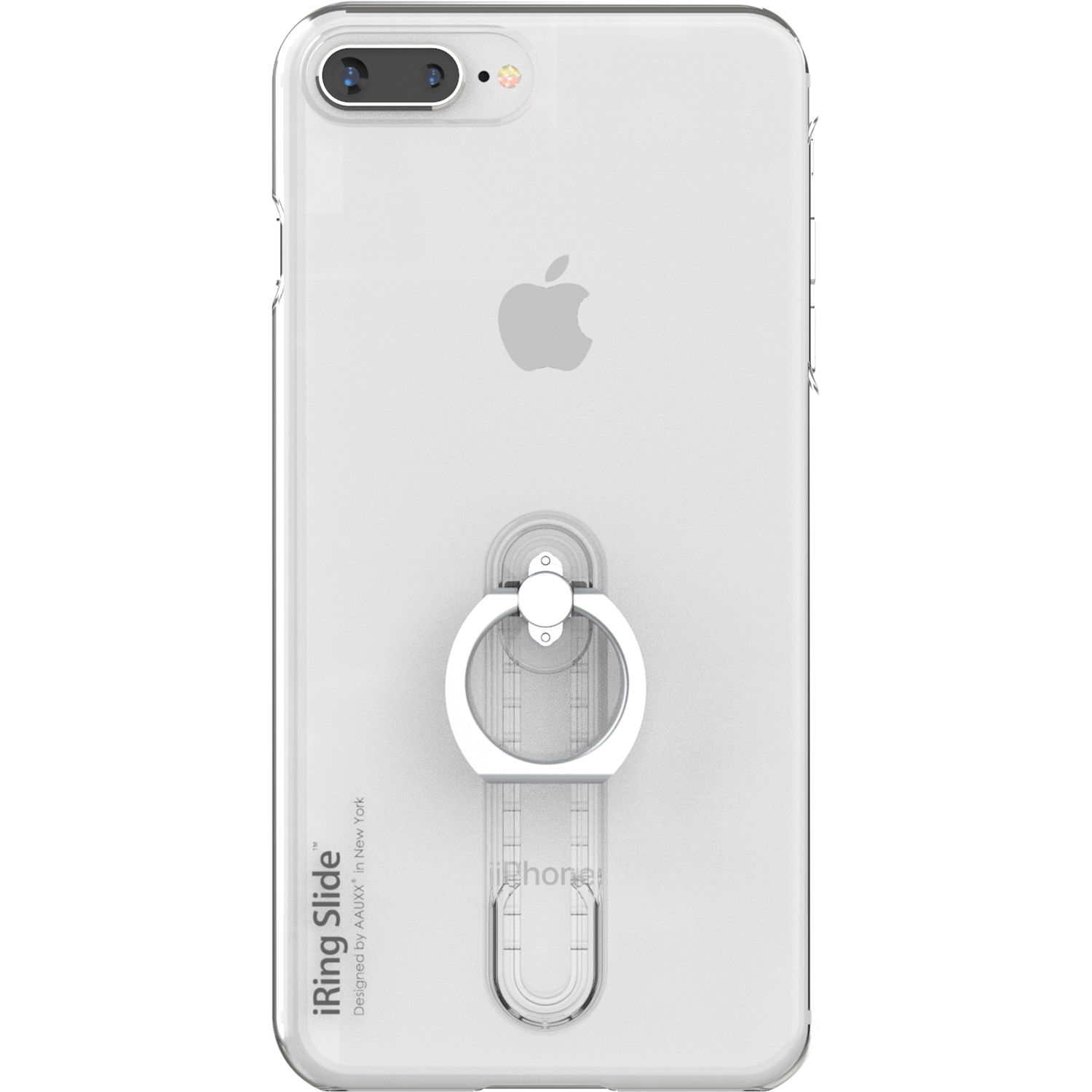 detailed look 9b2bf efb66 iRing Slide Case for iPhone 8 Plus (Clear)