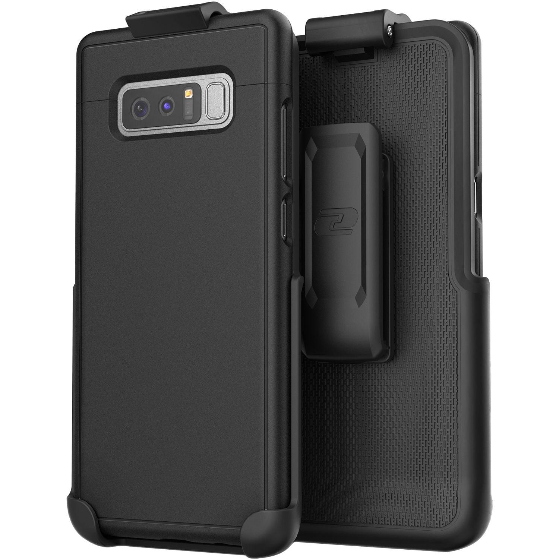 finest selection 62e1f d0da5 Encased SlimShield Belt Clip Holster Case for Galaxy Note 8 (Black)