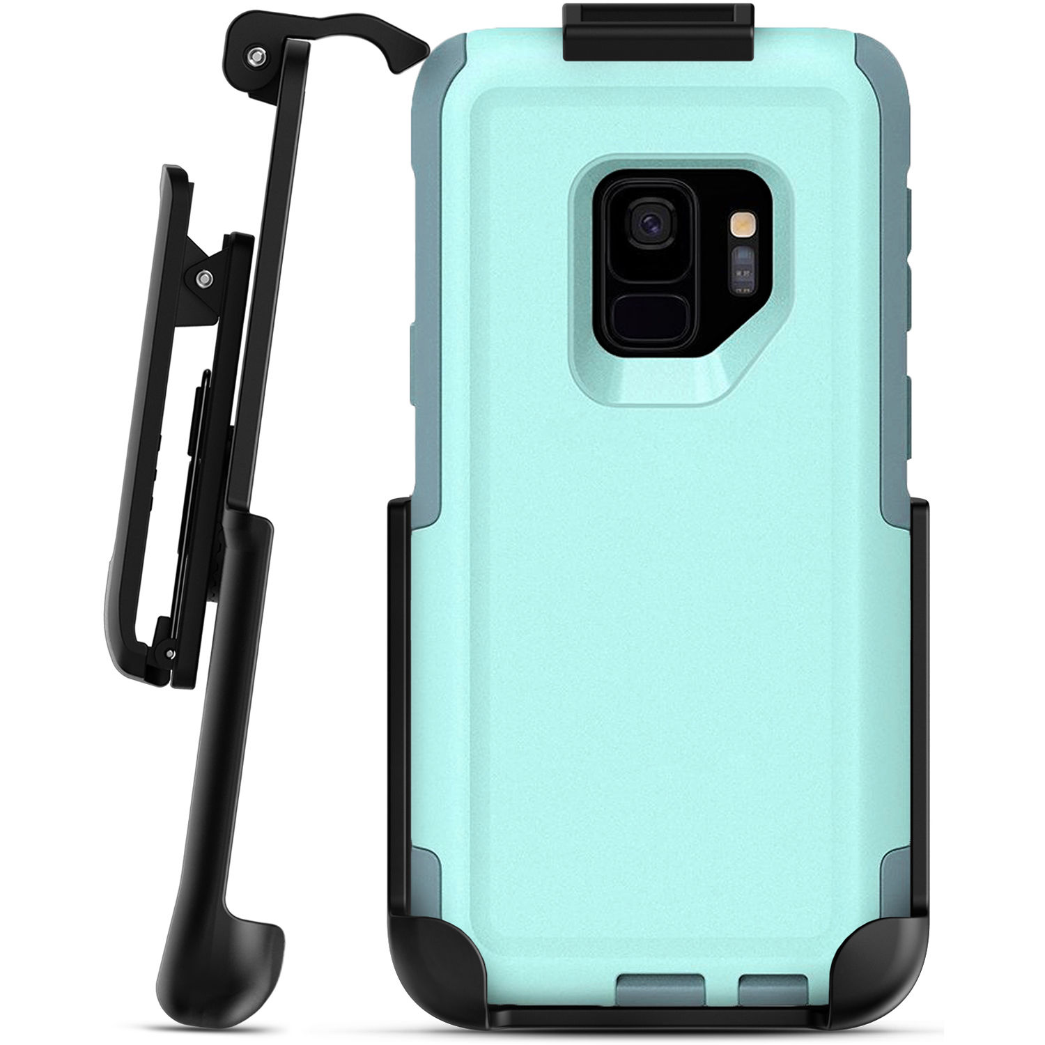 reputable site 3b411 75ad5 Encased Belt Clip Holster for Galaxy S9 OtterBox Commuter Case
