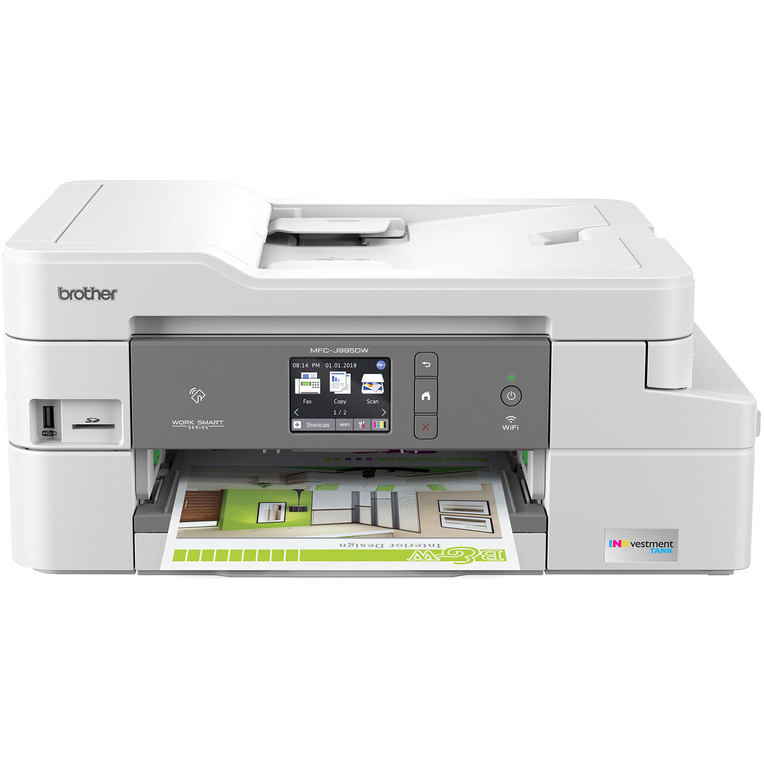 Brother Mfc J995dw All In One Inkjet Printer Mfc J995dw B H
