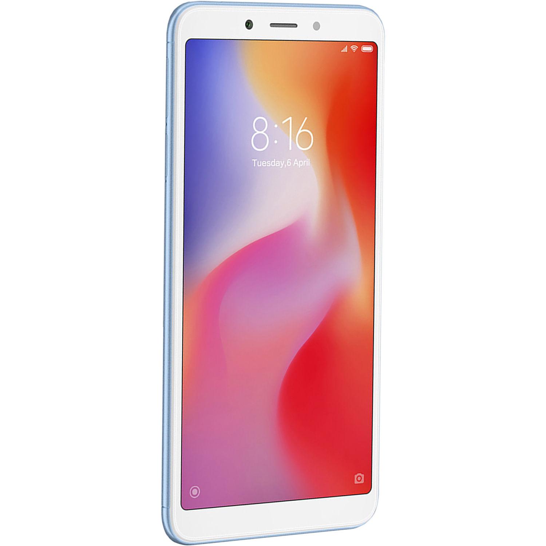 Xiaomi Redmi 6A Dual-SIM 16GB Smartphone (Unlocked, Blue)