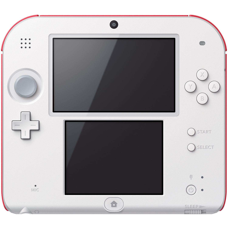 Nintendo 2DS New Super Mario Bros  2 Bundle (Red)