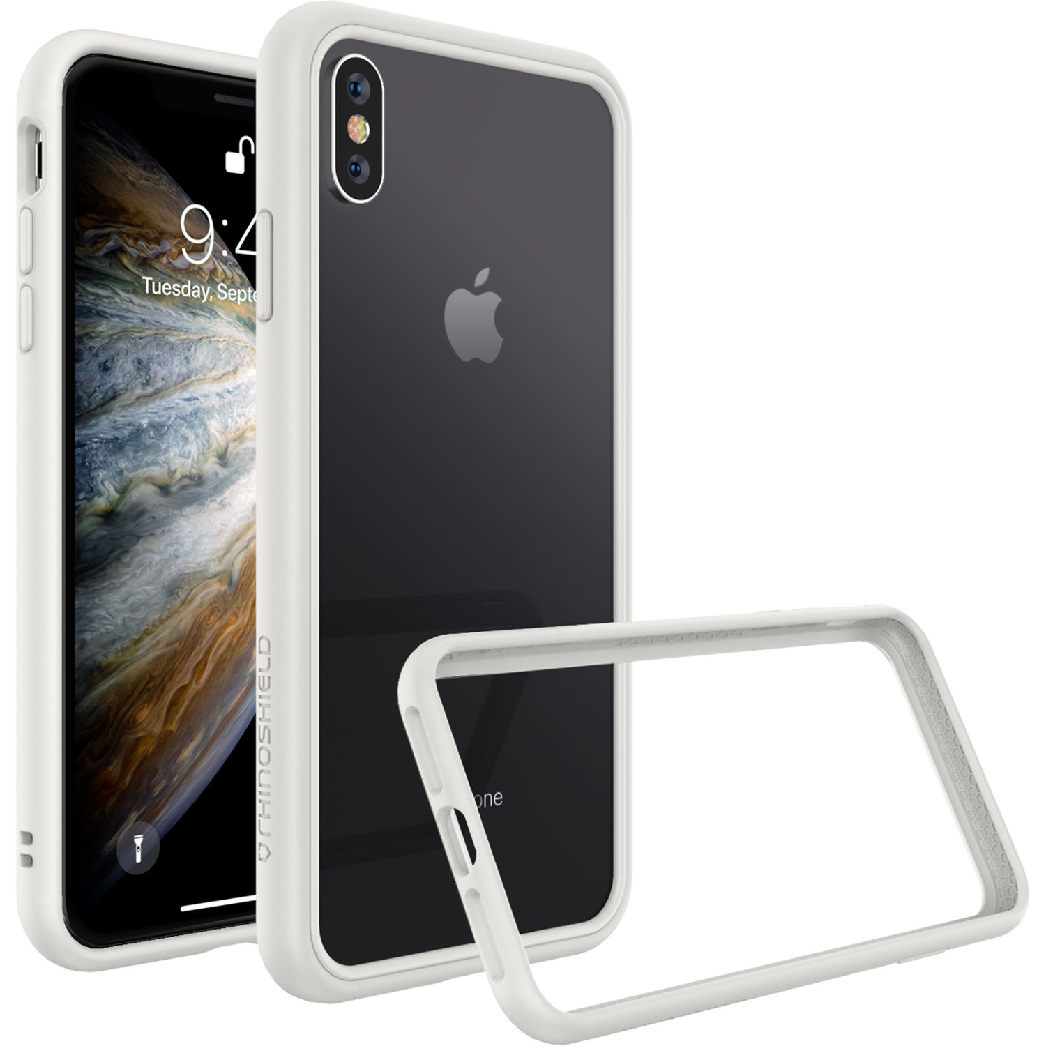 reputable site 280be f6103 RhinoShield CrashGuard NX iPhone X/XS Case (White)
